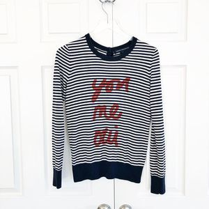 French Connection You Me Oui Sweater Cardigan